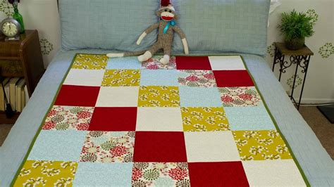 sew  block quilt youtube