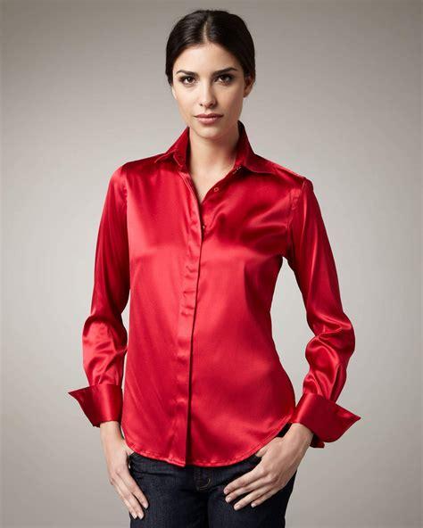 blouson blouse 1000 images about satin 5 on satin blouses