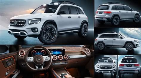 mercedes benz glb concept  pictures information