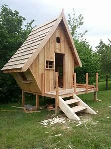 Cabane En Bois : construction d 39 une cabane en bois pour mes enfants 54 ~ Premium-room.com Idées de Décoration