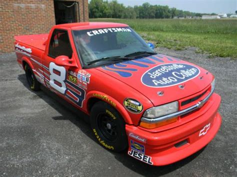 purchase   chevy  nascar racing truck replica