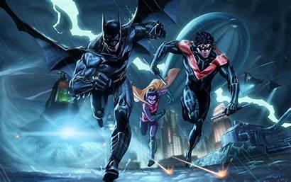 Batman Dc Comics Wallpapers Bat Birds Robin