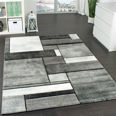 wohnzimmer teppich modern trendig meliert  teppichde