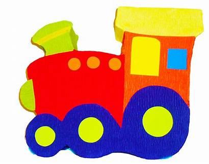 Train Clipart Clip Trains Choo Cartoon Children