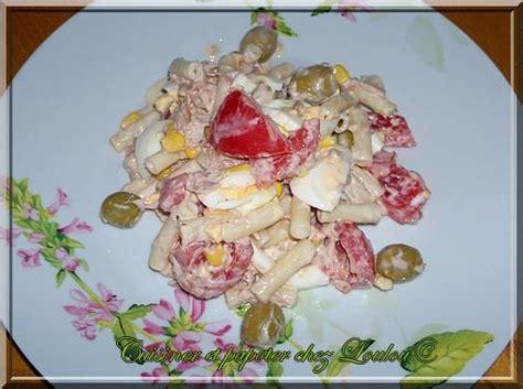 recette salade de p 226 tes au thon mayonnaise 750g