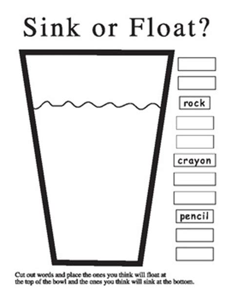 kindergarten science printables by rock and roll