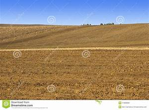 Tilled Field In Winter Royalty Free Stock Images - Image ...