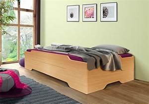 Bett Buche 90x200 : g stebett stapelbett bett mia soft 90x200 in buche design ohne rollroste ebay ~ Markanthonyermac.com Haus und Dekorationen