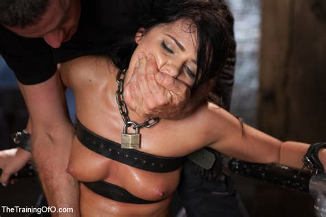 Sexy Chick Gets Head Boxed Pegged And Rope Xxx Dessert Picture 22