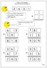 missing number worksheets ks2 year 5 addition missing digits maths