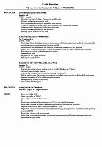 embedded developer resume samples velvet jobs With embedded linux developer resume