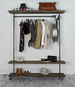 Image Gallery industrial clothing rack