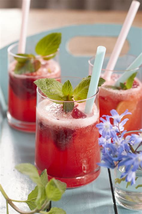 Erdbeer-Limonade | Rezept | Getränke rezepte ...