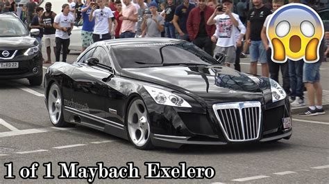 The 8 Million Dollar Maybach Exelero In Motorworld
