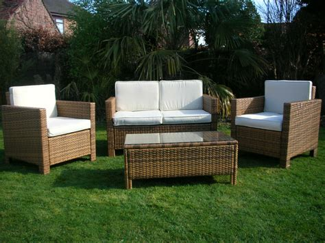 Garden Furniture Sets by New Garden Rattan Wicker Outdoor Conservatory Furniture