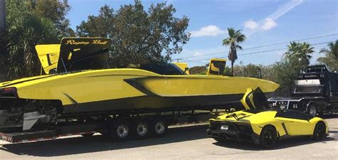 Lamborghini And Boat by 1 3 Million Lamborghini Boat Autofluence