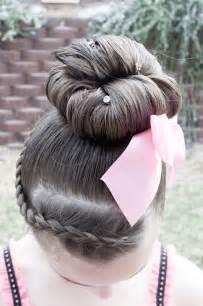 Cute Hair Style for Dance Recitals