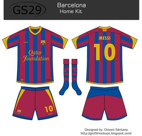 Barcelona - 2018/2019 Dream League Soccer DLS/FTS Kits Forma...