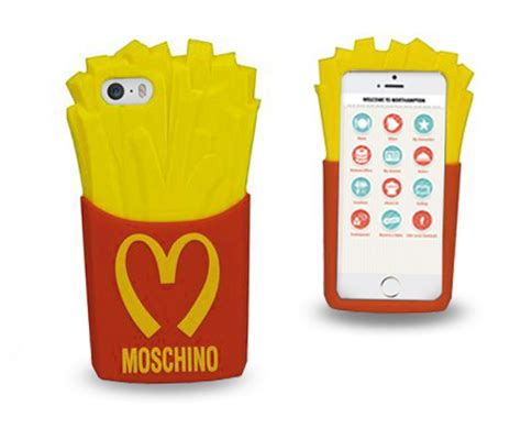 mcdonald s phone mcdonald s inspire moschino fast food fashion smart