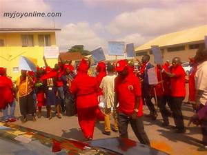 'We're not on strike; we're protesting sale of national ...