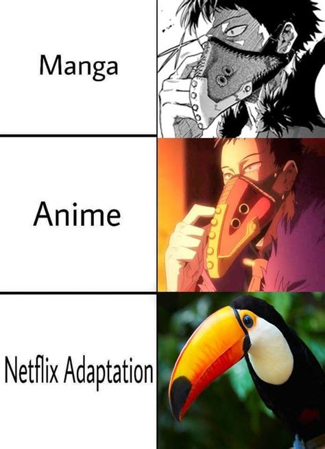 netflix adaptation anime meme anime animememe memes