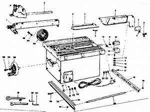 Craftsman Craftsman 9 Inch Motorized Table Saw Parts