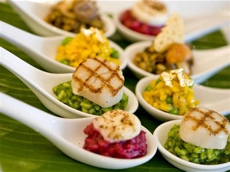 canap cuisine boda coctel