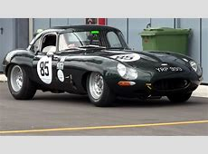 Jaguar EType Race Car LOUD SOUND YouTube