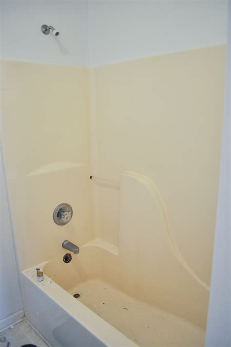 can you refinish a fiberglass tub how to refinish your bathtub for 50