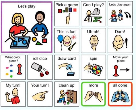 play communication board taken from http www