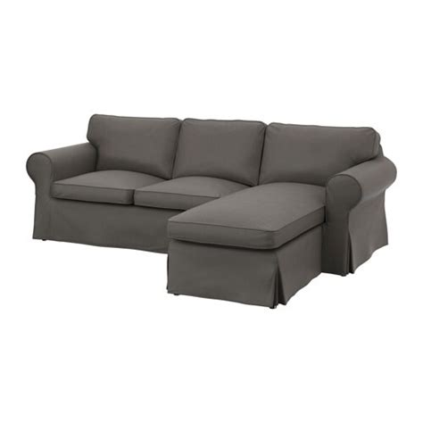 Ikea Ektorp Recamiere by Ektorp 2er Sofa Und R 233 Camiere Nordvalla Grau Ikea