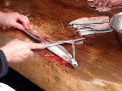 cuisiner une anguille comment découper une anguille