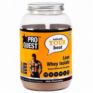 Isolate  U2013 Whey Protein Pro Black  U2013 Proquest Nutrition