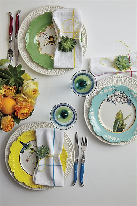 anthropologie table nature dessert plate laguiole flatware collection plates dinnerware partnership dream zoom casual language dining furniture kitchen setting settings