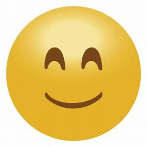 Happy smile emoji emoticon icon - Transparent PNG & SVG vector