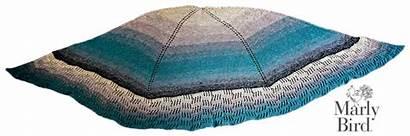 Stitch Garter Shawl Knit Bird Crochet Blocks