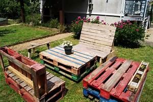 Recyclage Palette : recyclage 5 tables basses en palettes de bois ~ Melissatoandfro.com Idées de Décoration