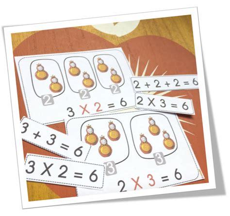 affichage table de multiplication multiplication bout de gomme