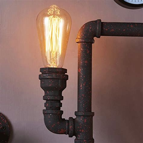 cgjdzmd wall sconce vintage steunk pipe wall light 4