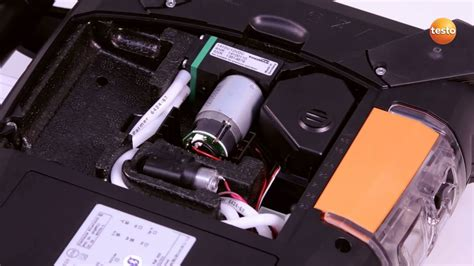 change testo testo 350 gas analyser step 13 how to change the