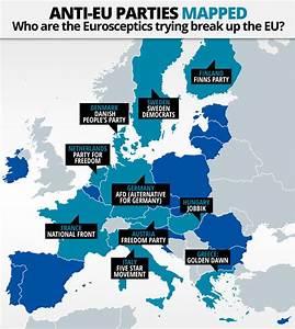 Anti-EU parties MAPPED: Who are the Eurosceptics trying ...