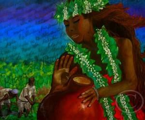 Haumea Hawaiian Goddess