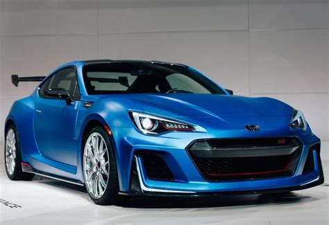 2018 Subaru Brz Sti Turbo First Drive  Car 2018 2019