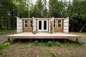 Off Grid Shipping Container Home Built For 20000$ – Live ...