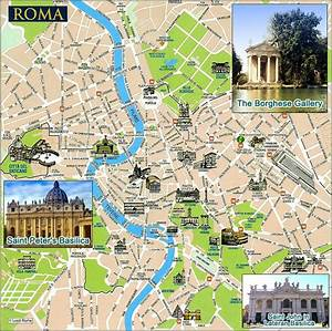Map Of Rome  Undated