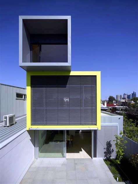 modern cube house   levels interior design
