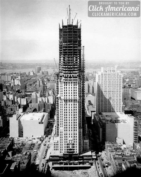 The construction of the Empire State Building (1929-1930