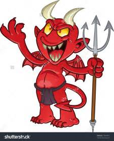 Image result for images of devils with pitchforks