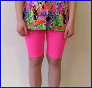 NEON PINK SWIM shorts for juniors