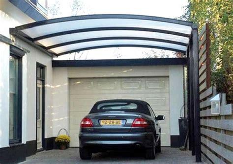 contoh garasi mobil minimalis modern keren rumah impian